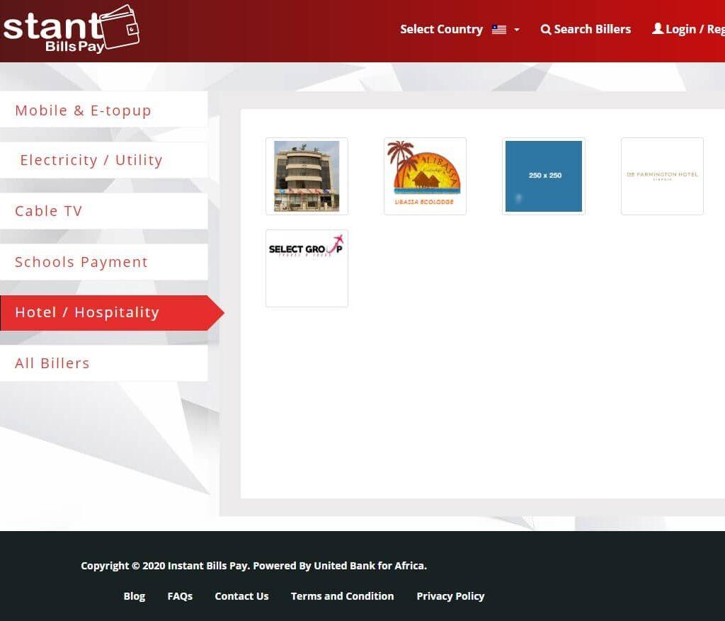 Online payment portal